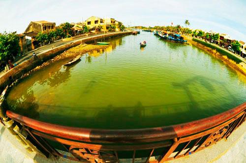 Sông Hoài thơ mộng.