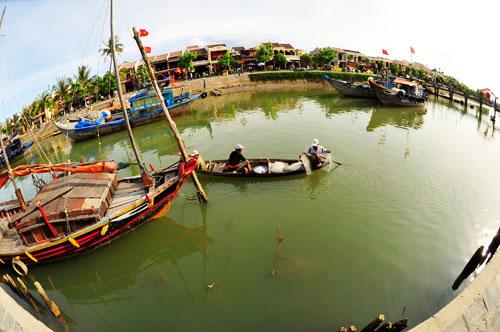 Dòng sông Hoài.