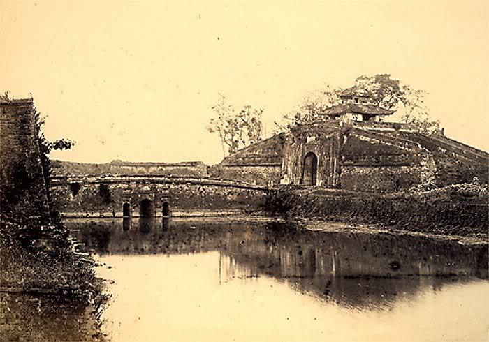 Cửa bắc Hà Nội xưa kia