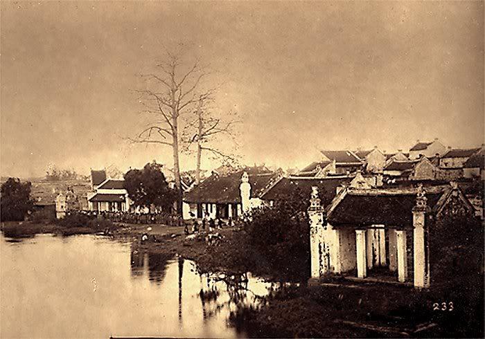 Một góc Hồ Hoàn Kiếm
