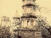 Tháp ở chùa Bản An