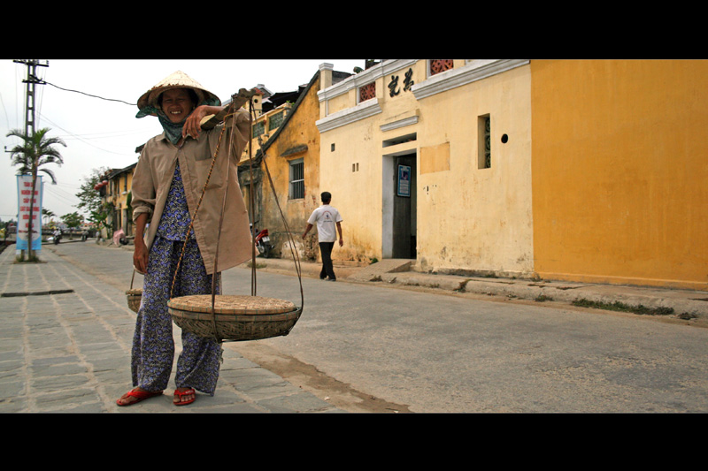 In the street of Hoi An