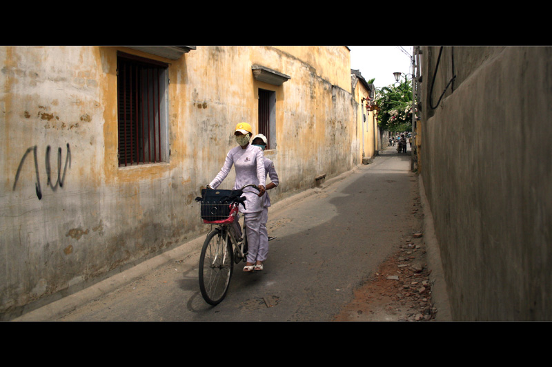 Riding in Hoi An