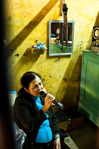 The Karaoke Lady