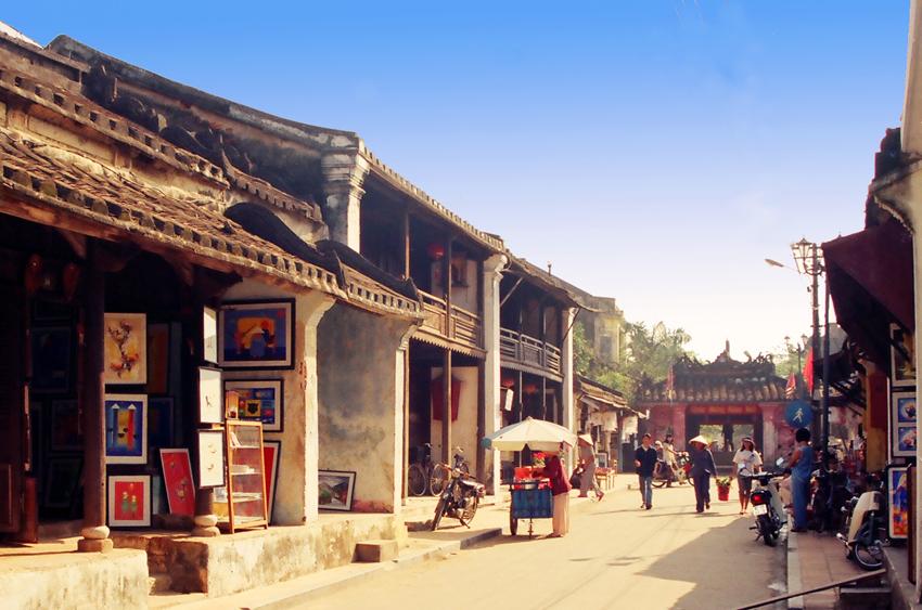 Hội An đường chùa cầu