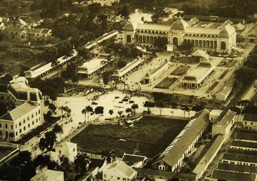 Khu vực Quảng trường 1-5, cung văn hóa hữu nghị Việt-Xô